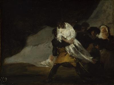 The Hanged Monk, C.1810-Francisco de Goya-Giclee Print