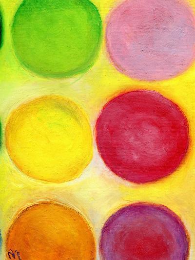 The Happy Dots 1, 2014-Nancy Moniz-Giclee Print