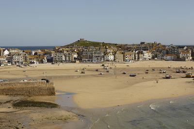 The Harbor at St Ives, in Cornwall, a Favorite English Tourist Destination-Nigel Hicks-Photographic Print