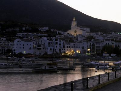 The Harbor of Cadaques, Spain, Cadaques, Catalonia Region, Spain, Europe-Stacy Gold-Photographic Print