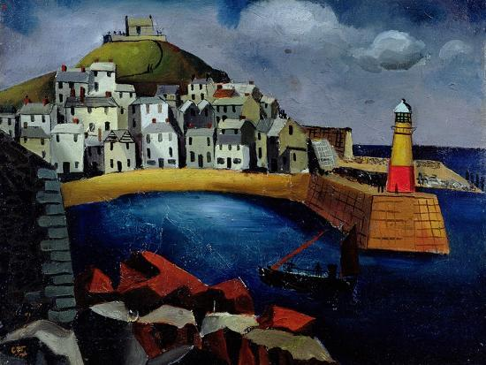 The Harbour, 1926-Christopher Wood-Giclee Print