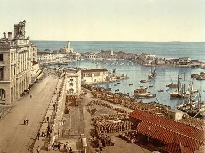The Harbour at Algiers, Pub. C.1900--Giclee Print