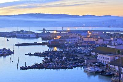 The Harbour at Dawn, Tangier, Morocco, North Africa, Africa-Neil Farrin-Photographic Print