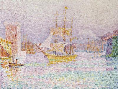 The Harbour at Marseilles, 1907-Paul Signac-Giclee Print
