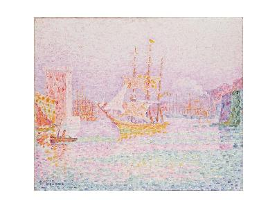 The Harbour at Marseilles-Paul Signac-Giclee Print