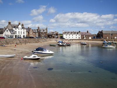 The Harbour at Stonehaven, Aberdeenshire, Scotland, United Kingdom, Europe-Mark Sunderland-Photographic Print
