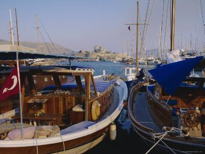 The Harbour, Bodrum, Anatolia, Turkey-J Lightfoot-Photographic Print