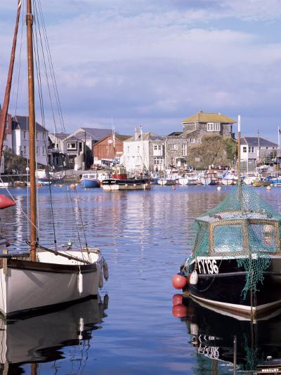 The Harbour, Mevagissey, Cornwall, England, United Kingdom-Roy Rainford-Photographic Print