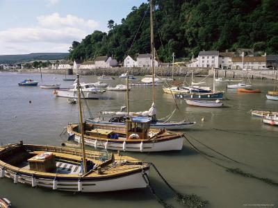 The Harbour, Minehead, Somerset, England, United Kingdom-Chris Nicholson-Photographic Print