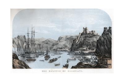 The Harbour of Balaklava, Crimean War, C1854--Giclee Print