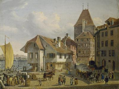 The Harbour of Basel-Konstantin Guise-Giclee Print