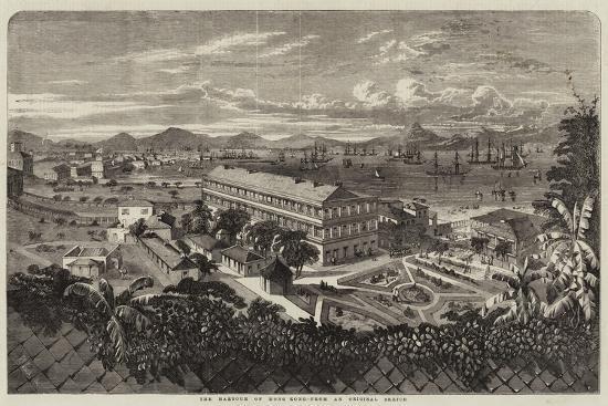 The Harbour of Hong Kong-Richard Principal Leitch-Giclee Print