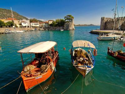 The Harbour of Nafpaktos, Central Greece, Greece, Europe--Photographic Print