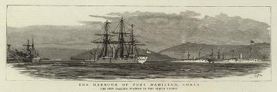 The Harbour of Port Hamilton, Corea, the New Coaling Station in the North Pacific--Giclee Print