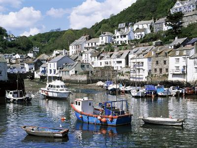 The Harbour, Polperro, Cornwall, England, United Kingdom-Rob Cousins-Photographic Print