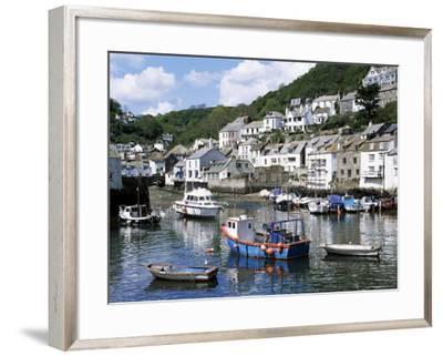 The Harbour, Polperro, Cornwall, England, United Kingdom-Rob Cousins-Framed Photographic Print