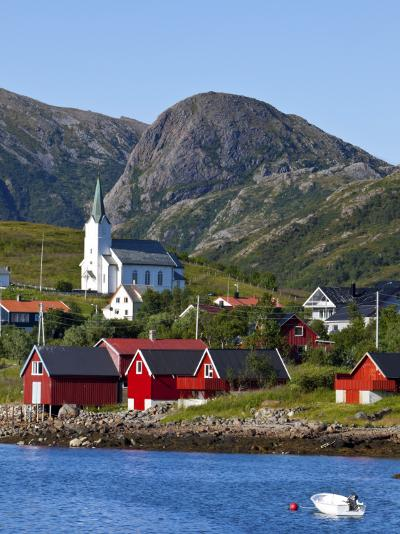 The Harbour Town of Malnes, Vesteralen, Nordland, Norway-Doug Pearson-Photographic Print