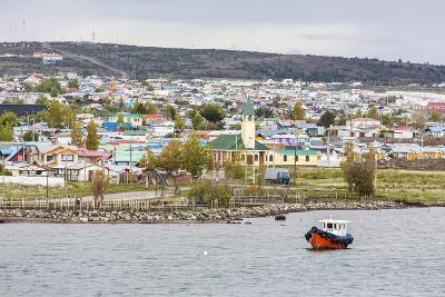 The Harbour Town of Puerto Natales, Patagonia, Chile, South America-Michael Nolan-Photographic Print