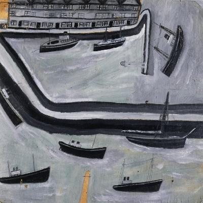 The Harbour-Alfred Wallis-Giclee Print
