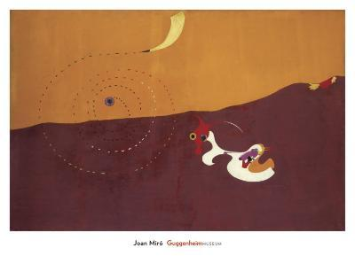 The Hare, Paysage le Lievre, Autumn 1927-Joan Mir?-Art Print