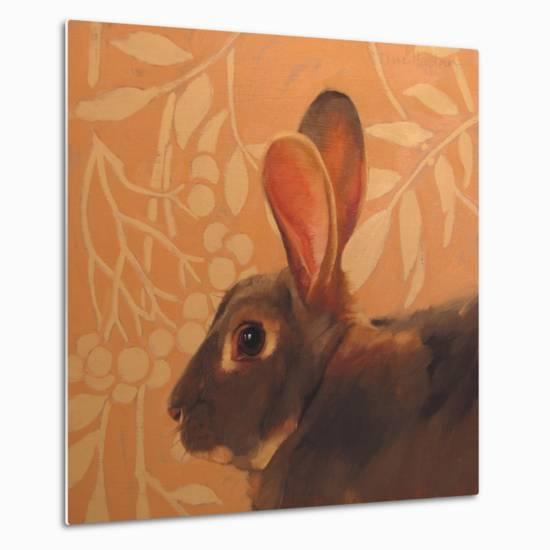 The Hare-Diane Hoeptner-Metal Print