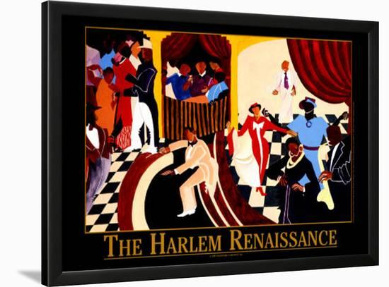 The Harlem Renaissance-Jerry Butler-Lamina Framed Art Print