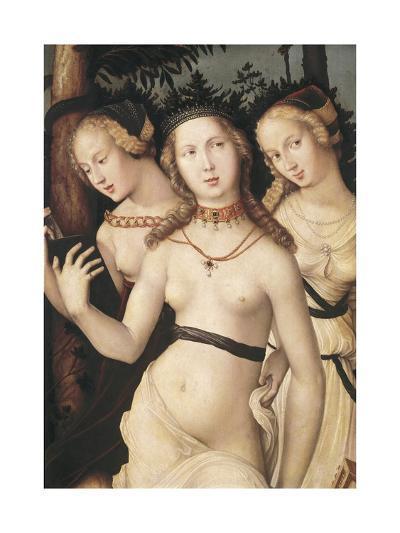 The Harmony Or, the Three Graces-Hans Baldung Grien-Art Print