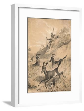 The Hartebeest, c1880--Framed Giclee Print