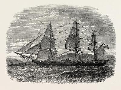 The Hartford (Admiral Farragut's Flag-Ship), USA, 1870s--Giclee Print