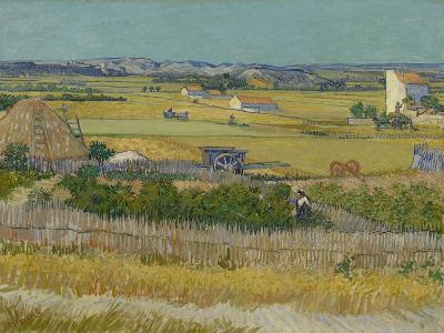 The Harvest, 1888-Vincent van Gogh-Giclee Print