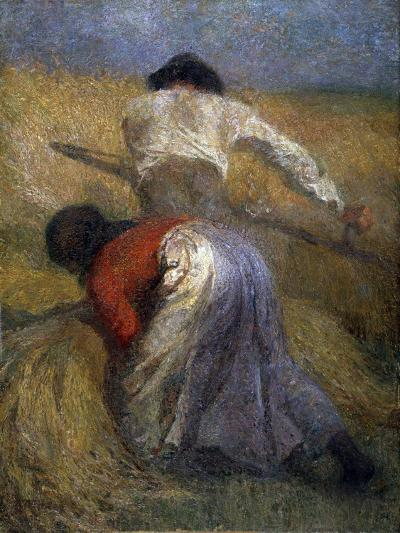 The Harvest, 19th Century-Adolphe Monticelli-Giclee Print