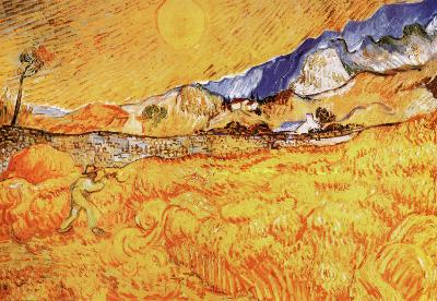 The Harvester-Vincent van Gogh-Art Print