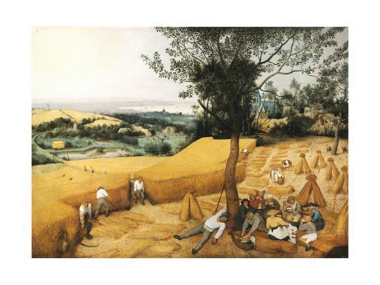 The Harvesters-Pieter Bruegel the Elder-Giclee Print