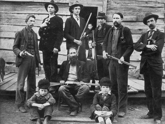 The Hatfields, 1899--Photographic Print