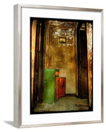 The Haunted House-Cristina Carra Caso-Framed Photographic Print