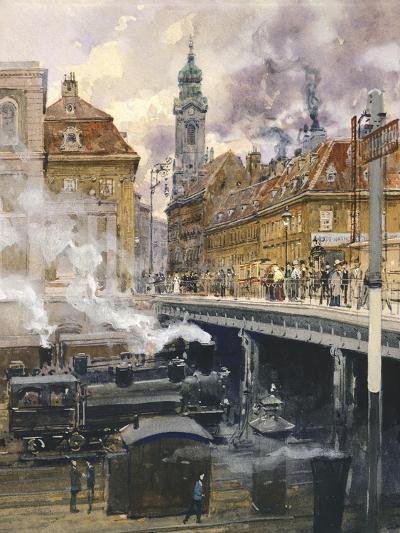The Hauptstrasse in Vienna, Austria 20th Century--Giclee Print