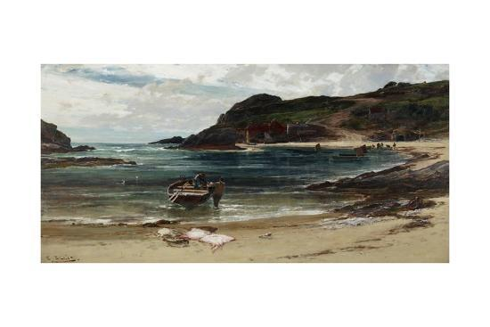 The Haven under the Hill (Anglesey), 1885-95-Edwin Ellis-Giclee Print