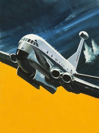 The Hawker Siddeley Nimrod-Wilf Hardy-Giclee Print