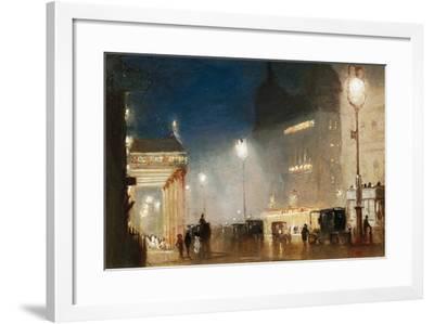 The Haymarket, London-George Hyde-Pownall-Framed Giclee Print