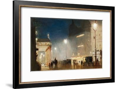 The Haymarket, London-George Hyde-Pownall-Framed Giclee Print