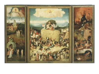 The Haywain, 1485-Hieronymus Bosch-Giclee Print