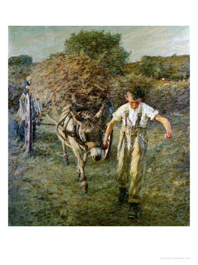 The Haywain, circa 1889-Henry Herbert La Thangue-Giclee Print