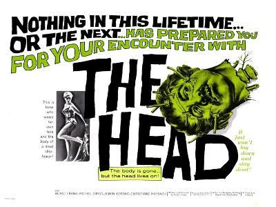 The Head, 1962--Art Print
