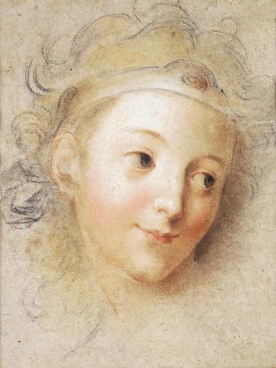 The Head of a Boy-Antoine Coypel-Giclee Print