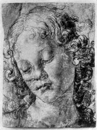 The Head of an Angel, 15th Century-Andrea del Verrocchio-Giclee Print