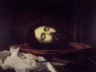The Head of Saint John the Baptist-Jos? de Ribera-Giclee Print