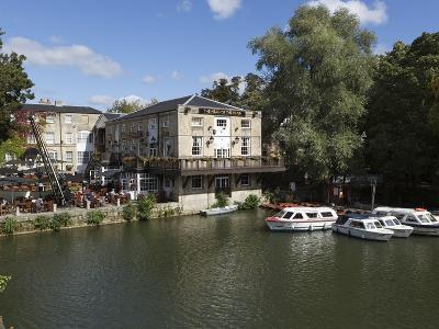 The Head of the River Pub Beside the River Thames, Oxford, Oxfordshire, England, UK, Europe-Stuart Black-Photographic Print