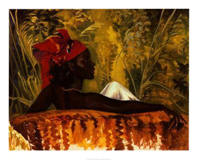 The Head Tie-Boscoe Holder-Art Print