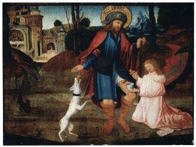 The Healing of Saint Roch, Late 15th Century--Giclee Print