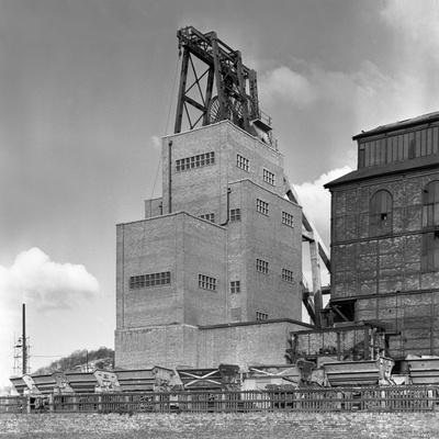 The Heapstead at Kadeby Colliery, Near Doncaster, South Yorkshire, 1956-Michael Walters-Photographic Print